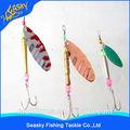 libre de la muestra señuelo de pesca de metal señuelos de plástico gusano