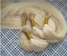 la más alta calidad completo la cutícula intacta europeo de pelo a granel para trenzar
