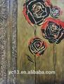 moderno abstracto decoración de flores pintura al óleo
