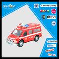 caliente la venta de ambulancia china coches de juguete para los niños de plástico de la policía de fricción coche de juguete