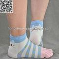 lindo atención al cliente al precio de venta al por mayor calcetinesdeldedodelpie para las mujeres