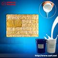 caucho de silicona líquida para moldes de piedra