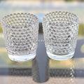 Castiçal de cristal tealight, casamento crystal velas votivas de vidro- yf0333