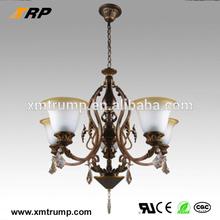 de estilo europeo comedor sala de decoración de araña de cristal antiguo para la venta
