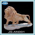 jardín de escultura de piedra decorativa león para la venta