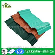 de alta calidad de resistencia a los ácidos chapa ondulada de color