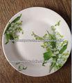 Baratos placa de cena/platos de cerámica