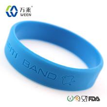 Bandas de mano de silicona con logotipo personalizado