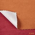 nuevo patrón de imitación gamuza de tela proveedor para el restaurante