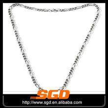 delgada de la venta caliente de acero inoxidable eslabón de la cadena collar