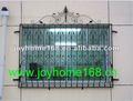 oxidado libre de hierro forjado ventana de diseños de la parrilla