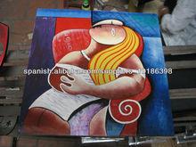 Pintura laca artístico abstracto para la decoración