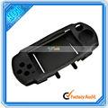 Nueva piel de silicona caso para cubrir psp 3000 negro( vg901bl)