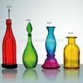 de alta calidad de colores decorativos de botellas de vidrio