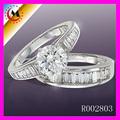 Alibaba expreso últimos diseños del anillo de bodas