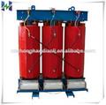 tres fase de tipo seco 250 kva transformador