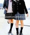 Deinvierno de alta de la escuela de la muchacha blazer& falda plisada uniforme