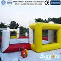 mini cancha de fútbolinflable de baloncesto tribunal campo de fútbol de los juegos de deporte en el mejor de venta