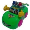 voiture jouet en plastique de bonbons cartoon voiture de police