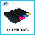 Copiadoras kyocera mita taskalfa 250ci/300ci uso tk-869k/m/y/c cor/cores do cartucho de toner/kit
