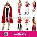 venta al por mayor de alta calidad de navidad traje de duende