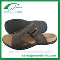 venta al por mayor de cuero de los hombres zapatillas