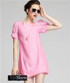 Sscshirts hermoso baratos design100% vestido de verano