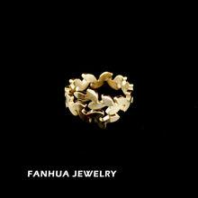 regalo de año nuevo 2014 moda 18k anillo de oro