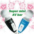 venta caliente de alta potencia portátil mini vibrador para las mujeres