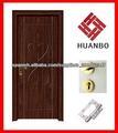 PVC puerta interior de madera mdf con marco