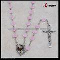 6 milímetro nuevo papa rosa rosario de pétalos