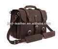 Caballo loco bolsa de cuero, maletín, vintage bolsa de mensajero, bolso de los hombres, #7072r- 1