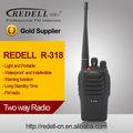 Barato radio de dos vías walkie talkie R318