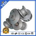 molde de acero para redondo o cuadrado tubo que hace la máquina