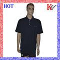 100% silkprinting de algodón pique polo camisas con bordado