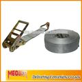 100mm catraca cinta de carga com gancho de j