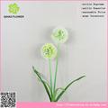 2 cabezas de cebolla de hierba artificial de plástico corona de flores para el funeral
