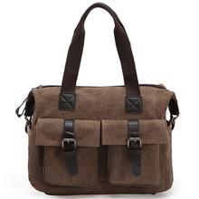 2014 nuevo producto guangzhou fábrica de bolsa de los hombres s de lona del hombro la bolsa