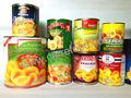 850ml Frutas en conserva con precios bajos enlatados melocotones amarillos de los mejores melocotones en conserva de calidad