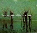 paisaje pintura al óleo