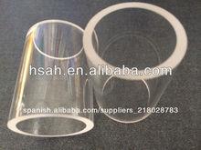 los bordes de buena y el precio competitivo de claro tubo de vidrio borosilicato