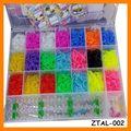 2014 pulsera coloridos bnads telar pulsera Kit ZTAL-002