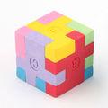 Licheng ec26 de promoción artículo de papelería, de fantasía puzzle 3d en forma de borrador
