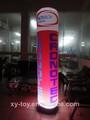 la promoción de eventos inflables usados columnas con cambio de color de iluminación led