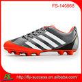 2014 nueva marca para hombre de goma al aire libre zapatos de fútbol para el hombre