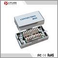 Gato. 5e conexión electrónica caja de conexión de teléfono de la caja