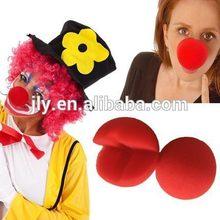 Rojo de la nariz de payaso/parte del club decoraciones/trajes de cosplay de accesorios