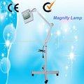 Lâmpadas de luz magnifier frescos; braçadeira de metal; braço oscilante, um ampliador de ficar AU-662A
