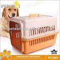 De plástico del perro portador fc-1003 jaula del perro