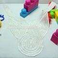 2014 nuevo diseño 100% de poliéster tejido de encaje de ganchillo de guipur cuello de encaje